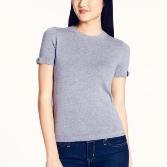 kate spade Tops - Kate Spade Cashmere Blend Bow Knit Sweater